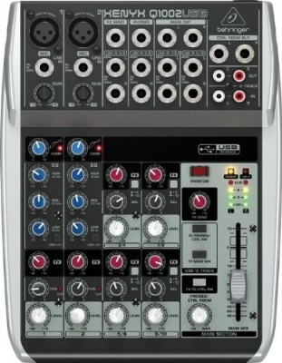 Behringer Xenyx Q1002usb Wired DJ Controller
