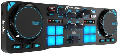 HERCULES DJ Compact Wired DJ Controller