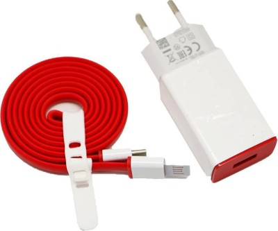 Saturn Retail Saturn Retail Premium High Speed cable and Adapter for plus 2 Battery Charger (Red,White) Dock(Red)