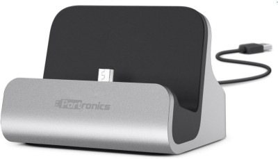 Portronics POR-590 Micro USB Connector with Docking Stand Dock(Multicolor)