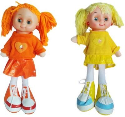 Arthr Soft & cute Orange Yellow Dora Baby Doll