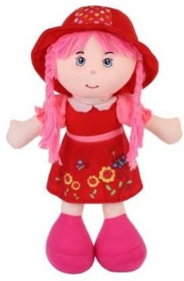 Baby World Non Toxic Washable Doll(Red)