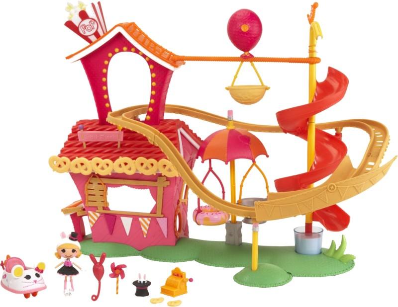 Mini Lalaloopsy Silly Fun House Park Playset(Pink)