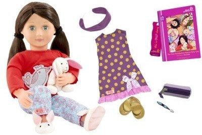 Maison Joseph Battat LTD Our Generation Willow Read and Play Set Clothes and Book Doll Accesories