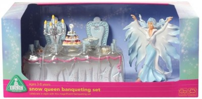 Early Learning Centre ELC Snow Queen Banqueting Set