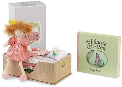 Ragtales Princess and the Pea Doll and Bed Soft Toy