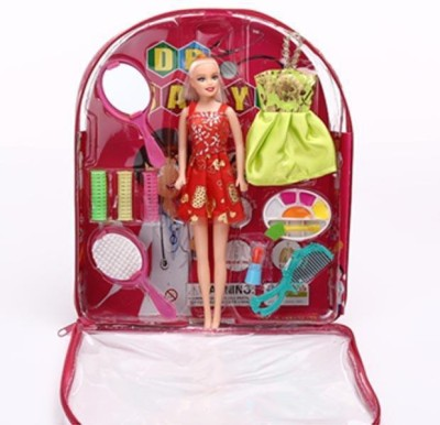New Pinch Beautiful Doll With Makeup set