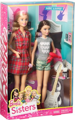 Barbie Sister Barbie & Skipper