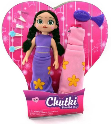 Chhota Bheem Chutki Beautiful Girl Set