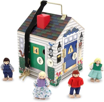 Melissa & Doug Doorbell House(Multicolor)