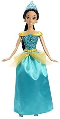 Mattel Disney Princess Sparkling Princess Jasmine Fashion(Blue)