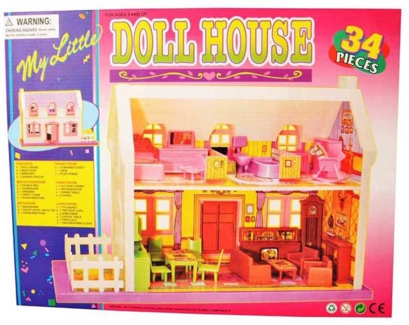 MK Enterprises Doll House(Multicolor)