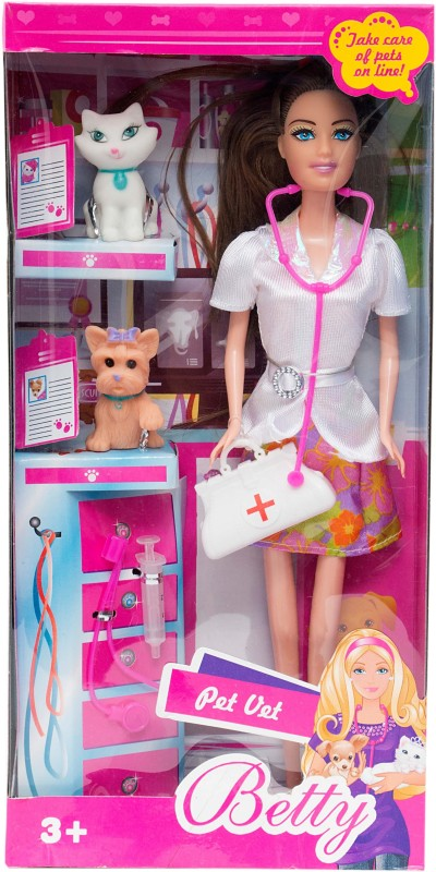 Aaryan Enterprise Betty As Veteran Doctor With Her Checkup Kit(Pink)