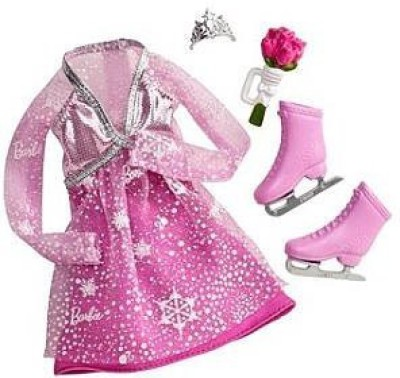 Mattel Barbie I Can Be Fashion Outfit Ice Skater