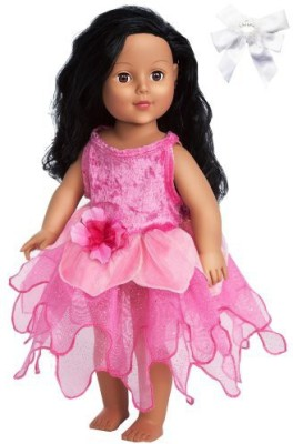 Little Adventures 43030 Hot Pink Dlx Tulip Fairy Dress With Hair Bow