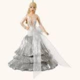 Hallmark 2008 Celebration Barbie #9th in Series by Hallmark(Silver)