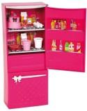 Barbie Glam Refrigerator Furniture Set (...