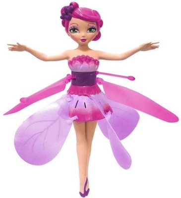 Dream Deals Flying Fairy Doll Inbuilt Battery,Ir Sensor,Charging Cable(Pink)