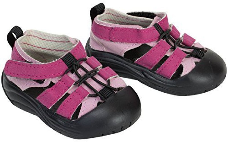 Sophia's Inch Doll Sandal Shoes fit for American Girl Dolls, Pink Outdoor Sandal(Pink)