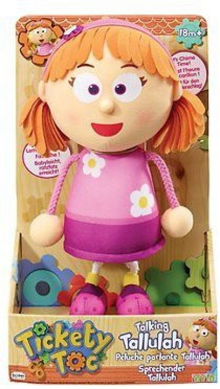Just Play Tickety Tock Talking Tallulah Poseable Singing(Multicolor)