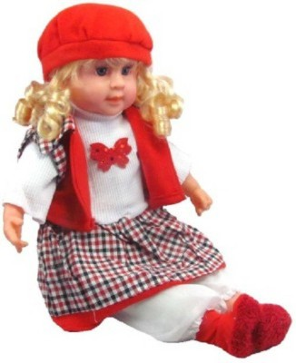 Khareedi 5 Poem Doll With Playing Music Multicolour