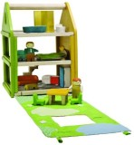 PlanToys Toys Tote and Go Rag Doll House...