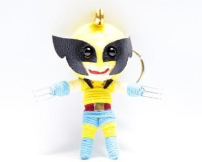 String Doll World Wolverine Voodoo String Keyring Keychain(Multicolor)