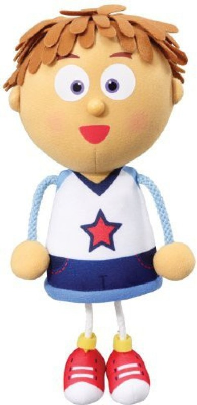 Just Play Tickety Tock Talking Tommy Poseable Singing(Multicolor)