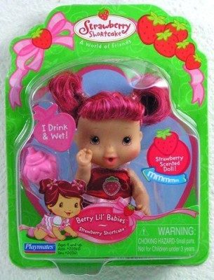 Strawberry Shortcake Berry Lil Babies Drink Wet Rare Nw