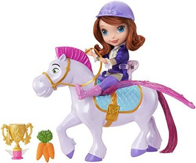 Mattel Disney Sofia the First Flying Magic Princess Sofia and Minimus