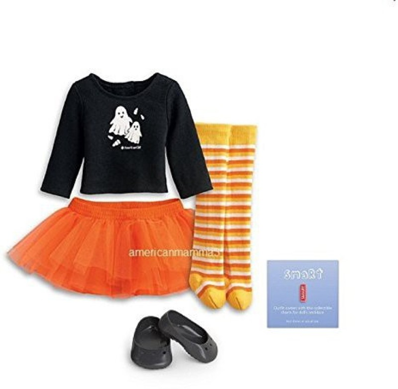 American Girl My Ag Spooky Fun Outfit + Charm(Multicolor)