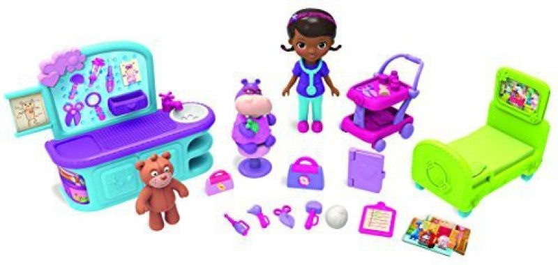 Just Play Doc Mcstuffins Hospital Stay(Multicolor)