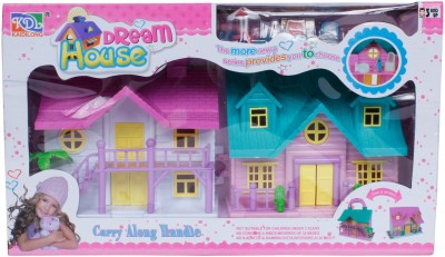 Buds N Blossoms Twin Dream House With Accessories