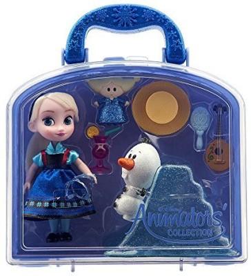 Frozen Disney Animators, Collection Elsa Mini [Set](Multicolor)