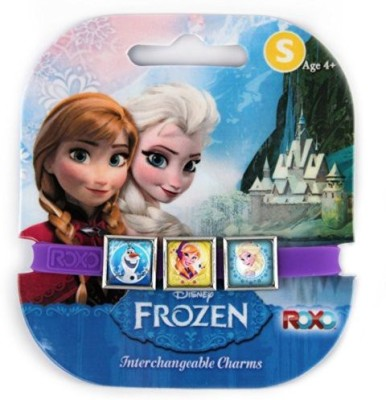 Disney Elsaannaand Olaf Frozen Interchangeable Charms Bracelet(Multicolor)
