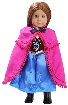 Dress Along Dolly Annainspired Clothes (Includes Dressshawl boots)