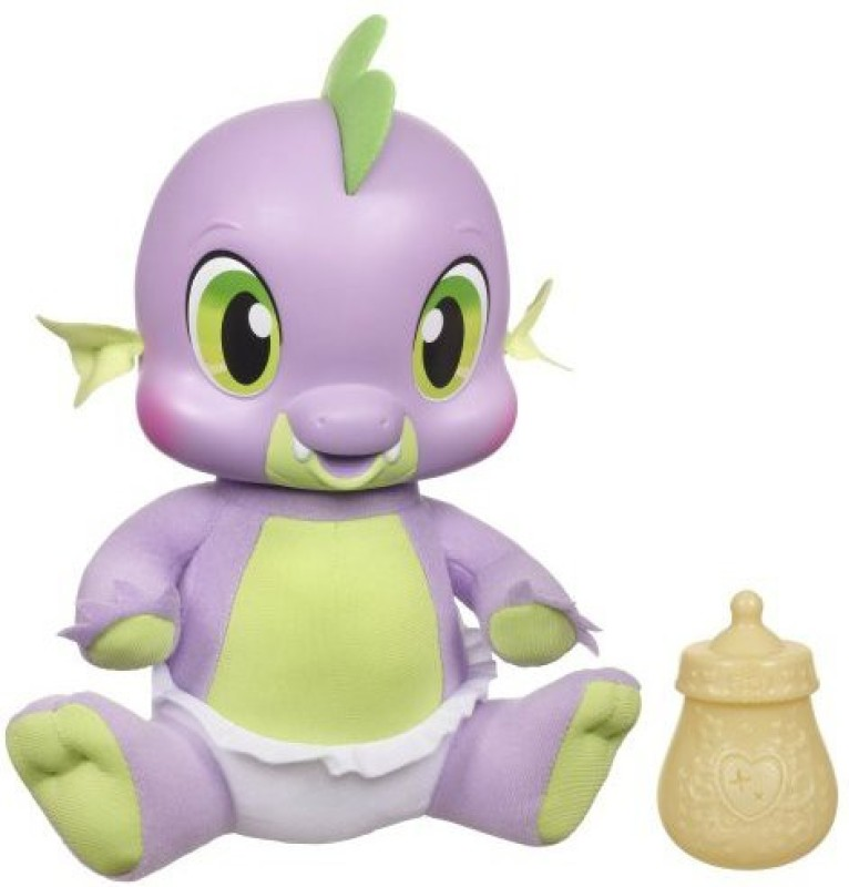 My Little Pony So Soft Newborn Spike the Dragon(Multicolor)