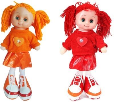 Arthr Soft & cute Orange Red Dora Baby Doll