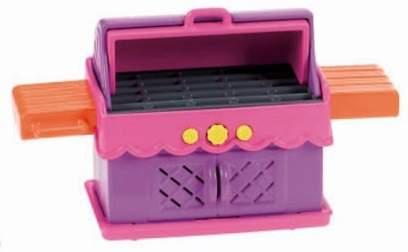Dora the Explorer Dora The Explorer Playtime Together Dora and Me Dollhouse Deluxe Backyard BBQ Set(Multicolor)