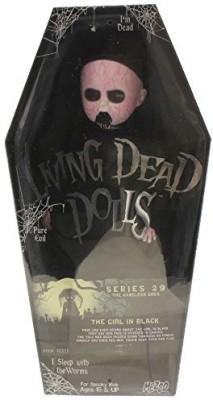 Mezco Living Dead Dolls Series 29 The Nameless Ones The Girl In Black 10.5