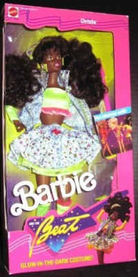 Barbie And The Beat Christie W/Glow In The Dark Costume