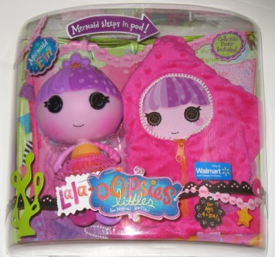 MGA Lalaloopsy Lala Oopsies Littles Mermaid Fin Exclusive