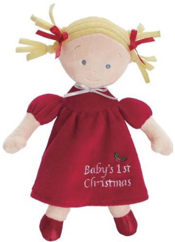 North American Bear Company Little Princess Christmas /Blonde(Maroon)