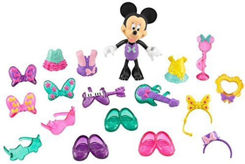 Fisher-Price Disney'S Minnie Mouse Rock Glam Minnie(Multicolor)