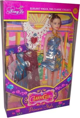 Giffi Charm Girl Blue