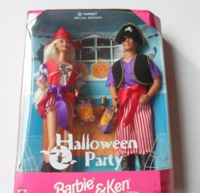 Barbie Target Special Edition Halloween Party Barbie and Ken