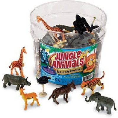 Learning Resources Jungle Animals Set
