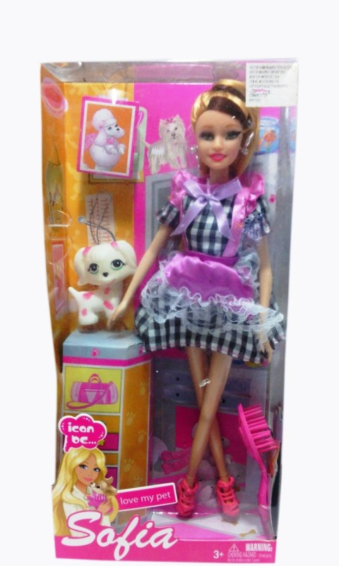 Shop & Shoppee Sofia Pretty Doll(Multicolor)