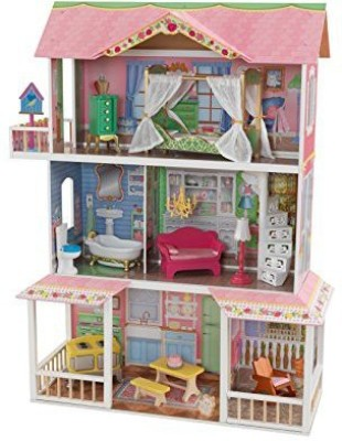 KidKraft Sweet Savannah Dollhouse(Pink)