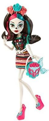 Monster High Monster Scaritage Skelita Calaveras And Fashion Set